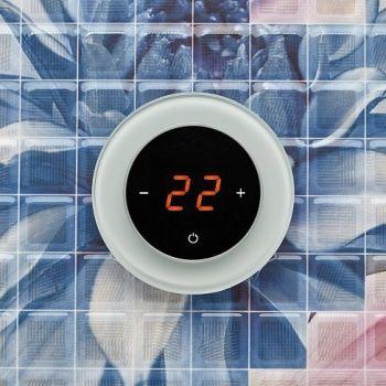 Терморегулятор AURA RONDA 9010 White Soft